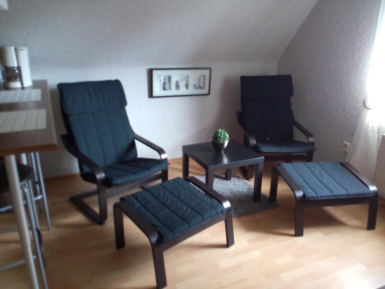 Wohnzimmer mit 2 Relax-Sesseln